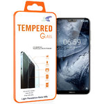 Calans 9H Tempered Glass Screen Protector for Nokia 6.1 Plus - Clear